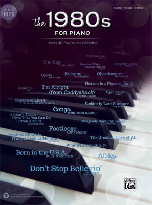 Greatest Hits: The 1980s for Piano - Piano/Vocal/Guitar - Book