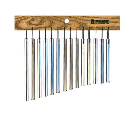 Single Row Chimes with White Ash Mantle