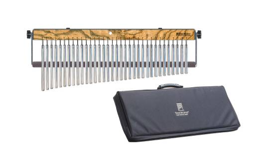 Full-Size Single Row Concert Chime with Damper and Free Deluxe Bag