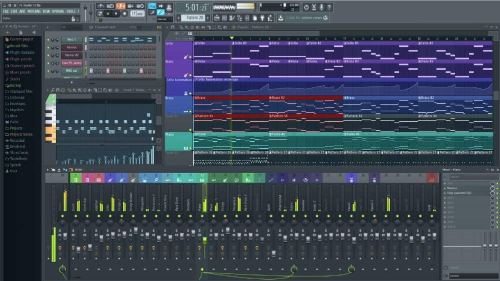 Image Line FL Studio 12 Fruity Loops - Downlaod - Long ...