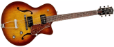 - 5th Ave Kingpin Cutaway with TRIC case - Cognac Burst