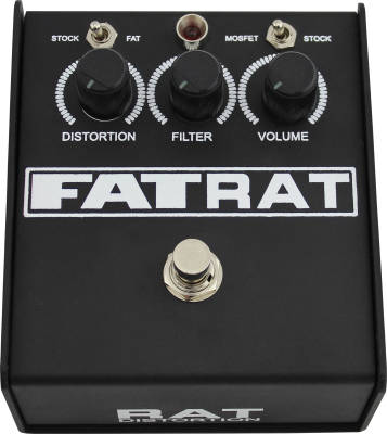 Fat Rat Pedal with Mosfet/Germanium and Low End Boost