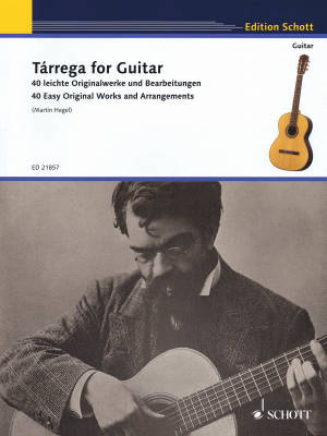 Tarrega for Guitar - 40 Easy Original Works and Arrangements - Classical Guitar - Book