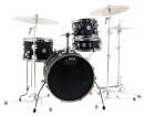 Drum Workshop - Design Series Mini Pro Drum Set w/18 BD - Black Satin
