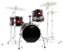 Drum Workshop - Design Series Mini Pro Drum Kit w/16 BD -  Tobacco Burst