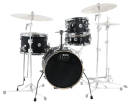Drum Workshop - Design Series Mini Pro Drum Set w/16 BD - Black Satin