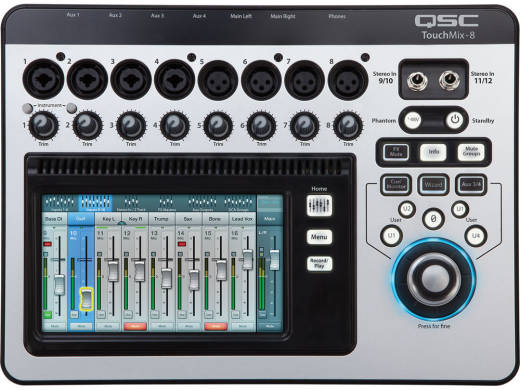 TouchMix-8 Compact Digital Mixer with Touchscreen