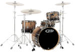 Pacific Drums - CB4 Concept  Birch 4-Piece Shell Pack - Natural to Charcoal Fade