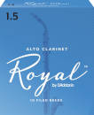 Royal by DAddario - Alto Clarinet Reeds, Strength 1.5, 10-pack