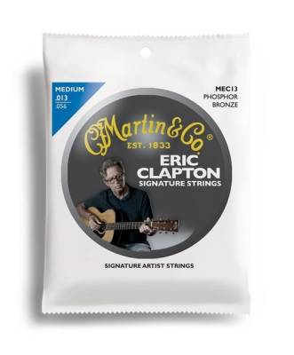 Martin Guitars - Claptons Choice 92/8 13-56 Light Strings