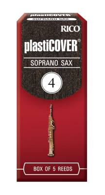 Soprano Sax Reeds, Strength 4.0, 5-pack