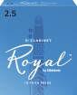 Royal by DAddario - Eb Clarinet Reeds, Strength 2.5, 10-pack
