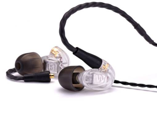 Single Driver In-Ear Monitors - Clear