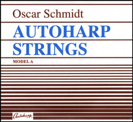 Autoharp A-Model String Set