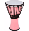 Toca Percussion - Freestyle 7 Inch Colorsound Djembe - Pastel Pink