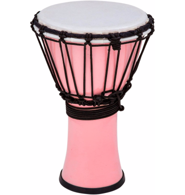 Freestyle 7 Inch Colorsound Djembe - Pastel Pink