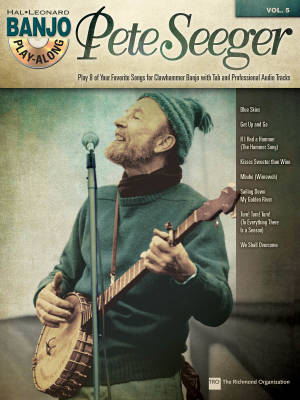 Pete Seeger: Banjo Play-Along Volume 5 - Book/CD