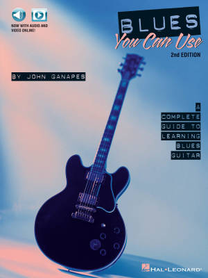 Blues You Can Use - 2nd Edition - Ganapes - Guitar - Book/Media Online