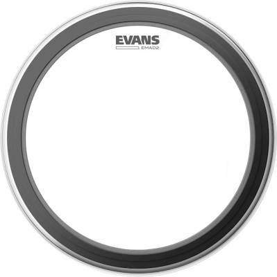 EMAD2 Clear Bass Drum Head - 20''