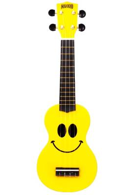 U-Smile Soprano Ukulele w/Bag - Yellow