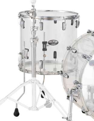 Crystalbeat 18x16 Inch Floor Tom - Clear