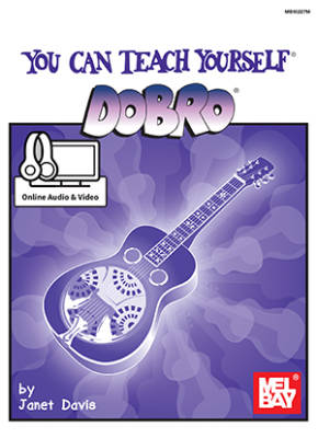You Can Teach Yourself Dobro - Davis - Resonator Guitar - Book/Media Online