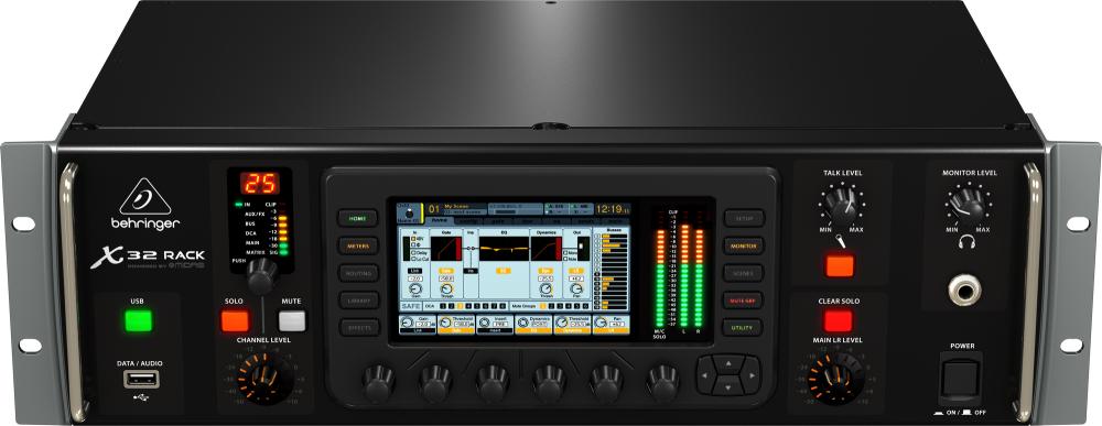 behringer x32 digital rack mixer long mcquade musical instruments. Black Bedroom Furniture Sets. Home Design Ideas