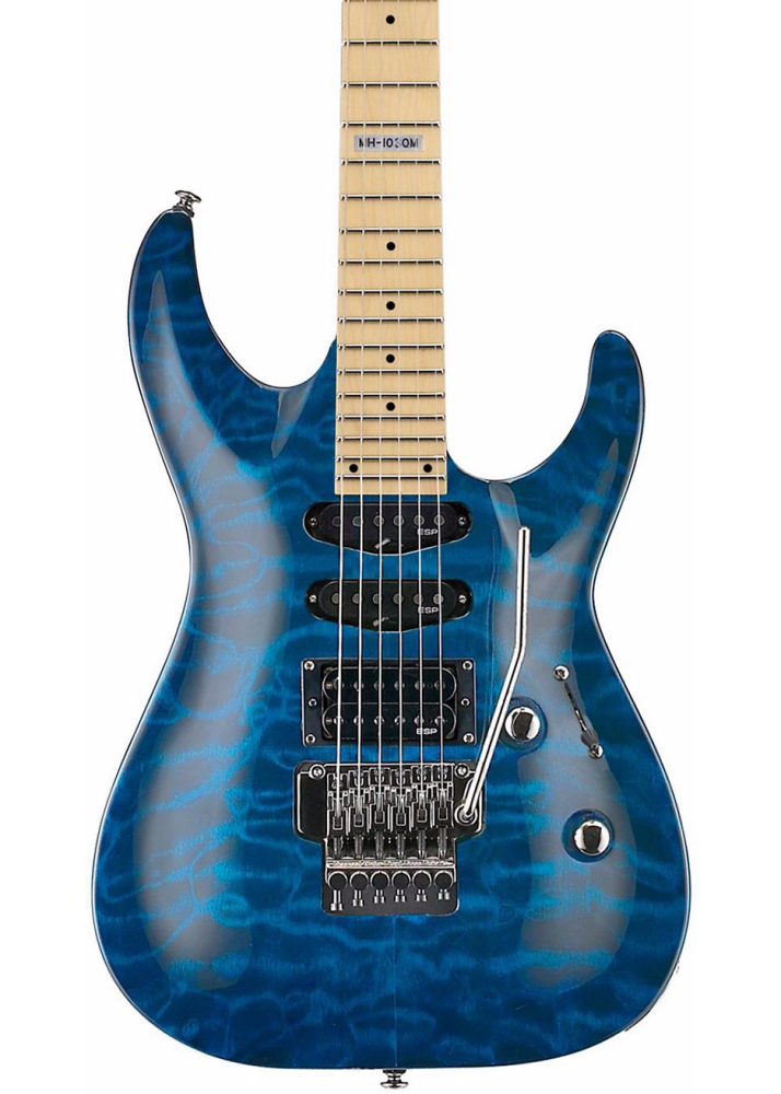 Esp Guitars Ltd Mh 103 Quilted Maple Electric Guitar See