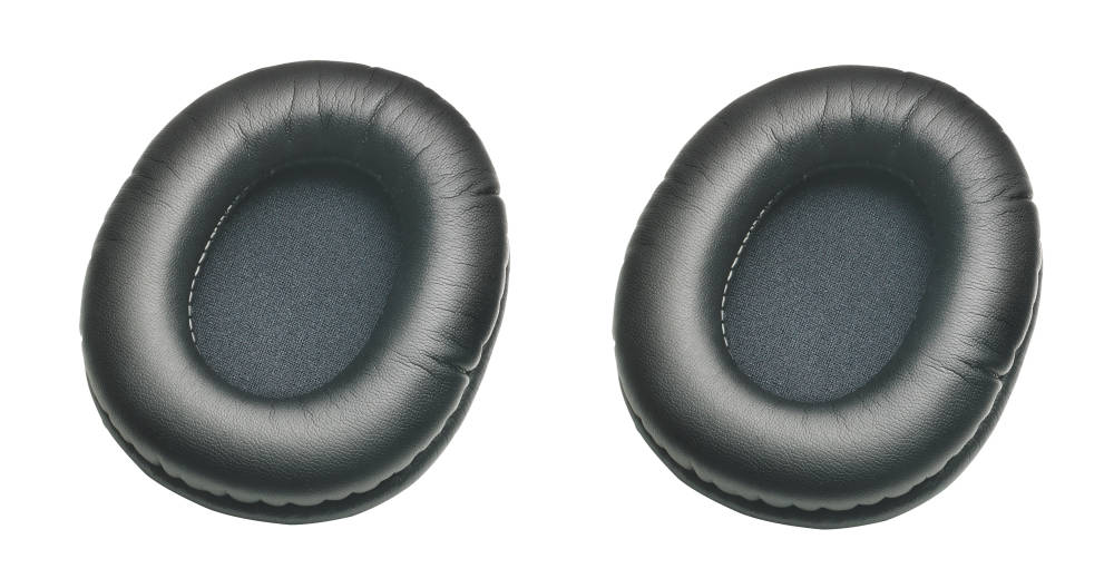 Audio-Technica - Replacement Earpads for ATH-M Series, Pair - Black