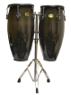 Mano Percussion - Conga Set 10 & 11 with Stand - Black
