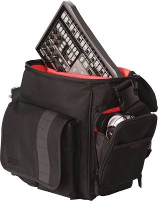 DJ Bag for 35 LPs & Serato-Style Interface
