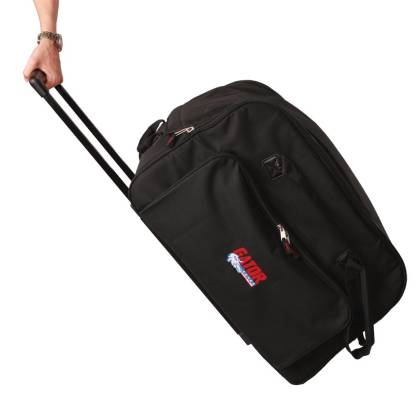 Rolling Speaker Bag for Large Format 12'' Speakers