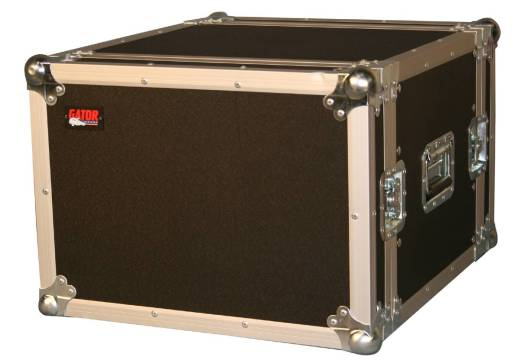 8U, Standard Audio Road Rack Case