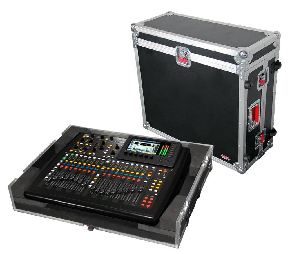 gator road case for behringer x 32 compact mixer long mcquade musical instruments. Black Bedroom Furniture Sets. Home Design Ideas