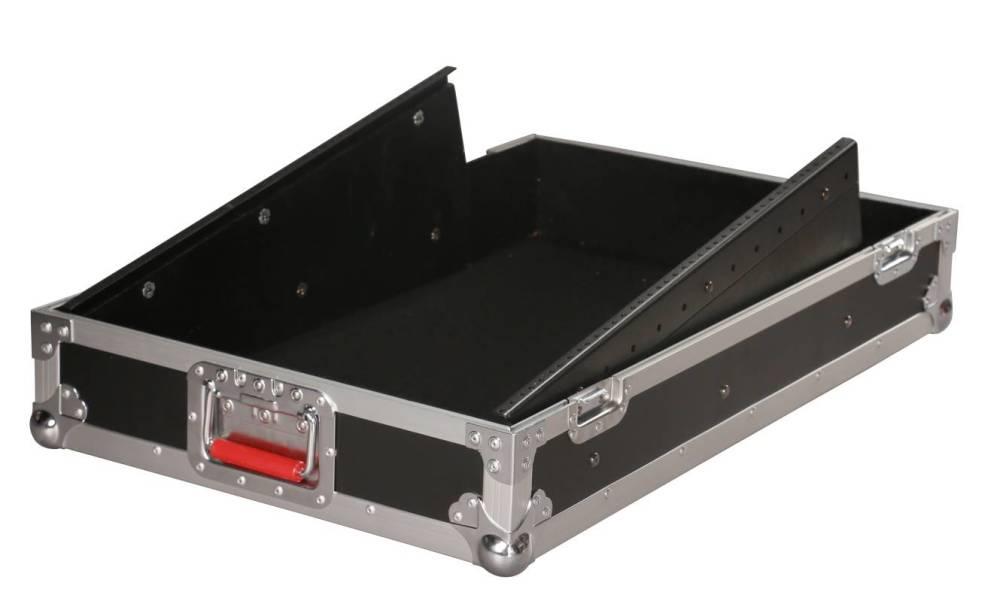 gator 10u slant top road case long mcquade musical instruments. Black Bedroom Furniture Sets. Home Design Ideas