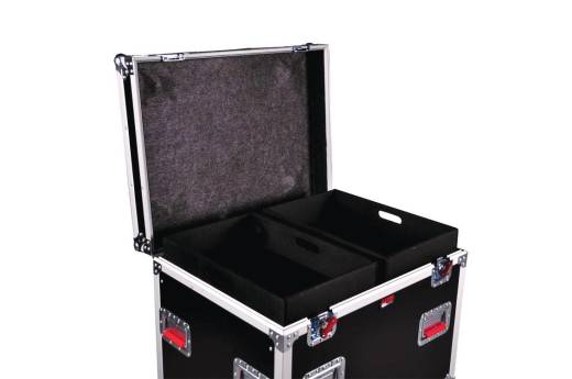 Truck Pack Trunk w/ Dividers - 45'' x 30'' x 30'', 12mm