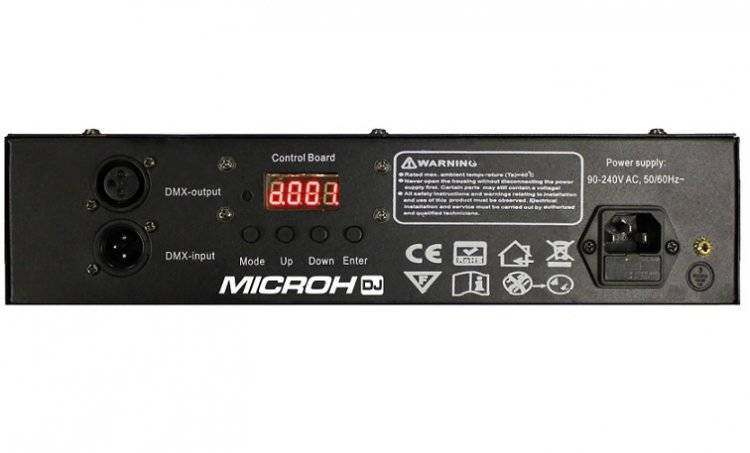 Microh Uvbrick16 16 X 3 Watt Led Uv Wash Dmx Long Amp Mcquade Musical Instruments