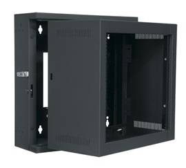 10SP / 17'' Deep Econo Wall Rack - Black