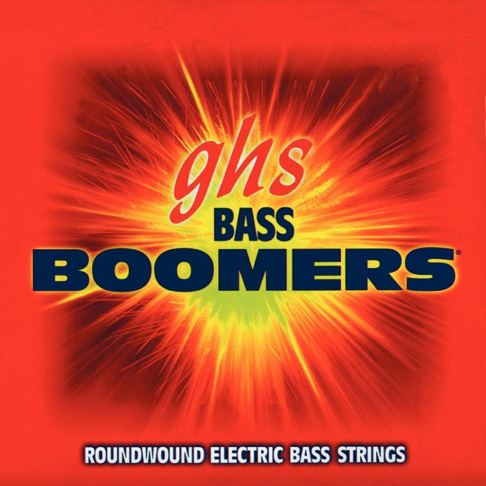 ghs strings bass boomers electric bass string set medium scale long mcquade musical. Black Bedroom Furniture Sets. Home Design Ideas