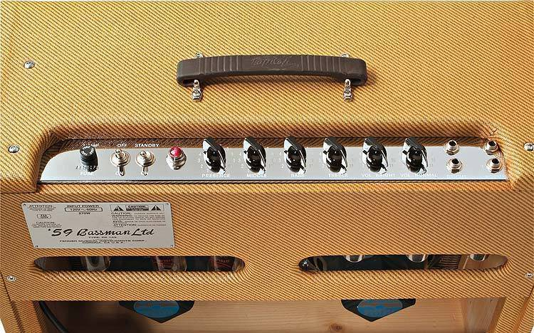 Fender Tweed Amp >> Fender '59 Bassman LTD - Long & McQuade Musical Instruments