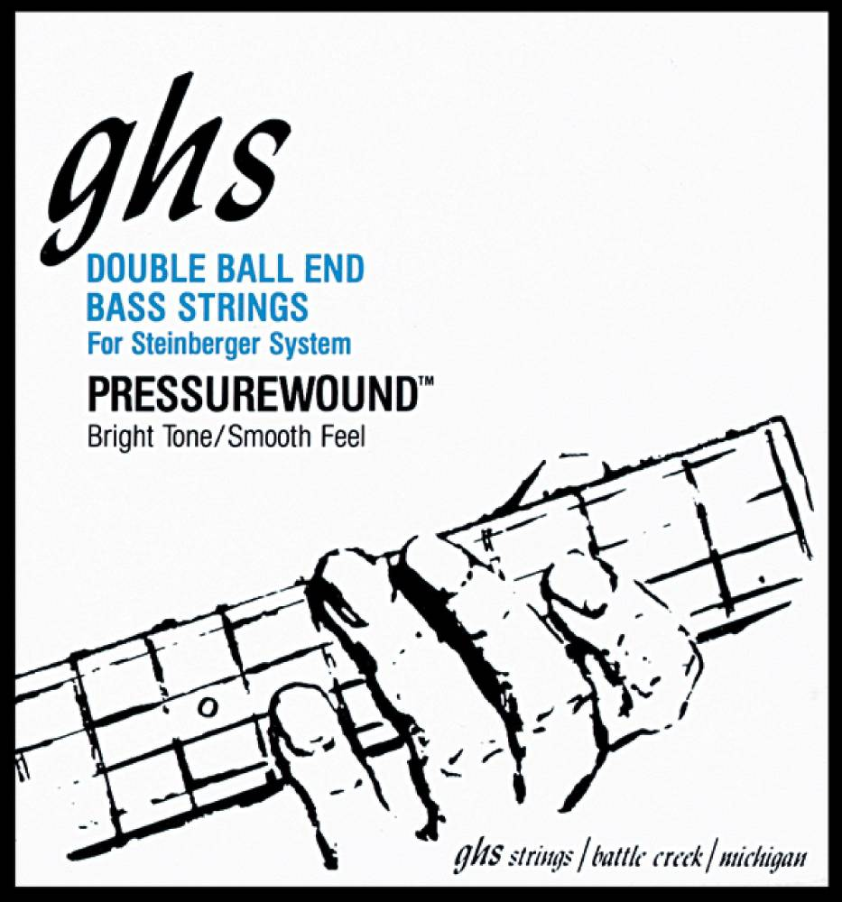ghs strings double ball end bass strings roundwound stainless steel light long mcquade. Black Bedroom Furniture Sets. Home Design Ideas