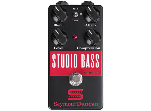 Studio Bass Compressor Pedal