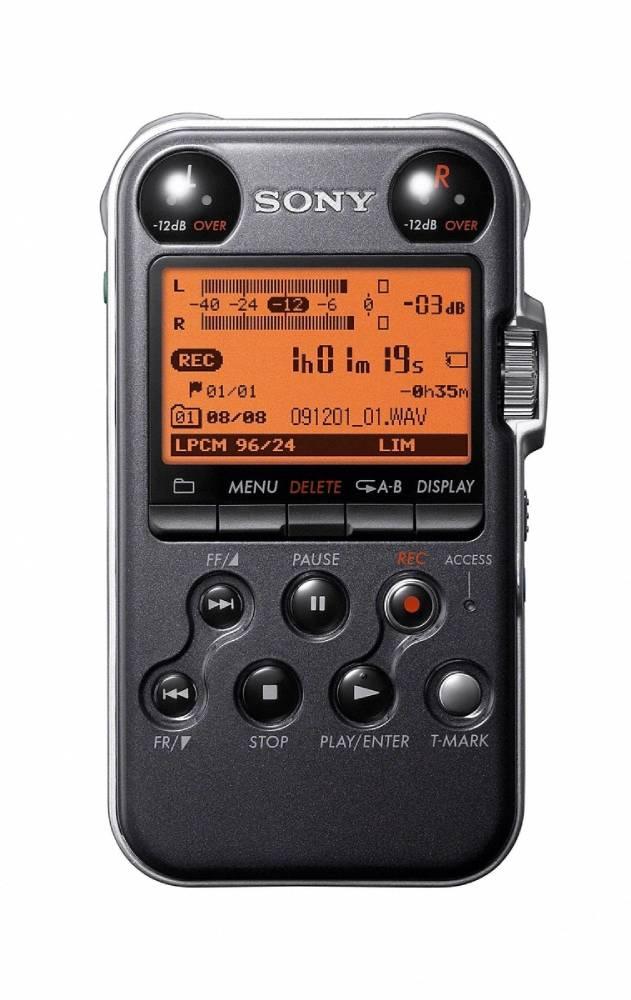 Sony Portable Audio Recorder Black Long Amp Mcquade