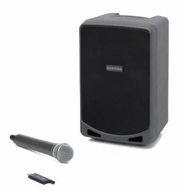 Rechargeable Portable PA with Handheld Wireless System and Bluetooth