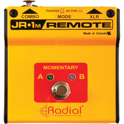 JR1-M Momentary Single Action Footswitch