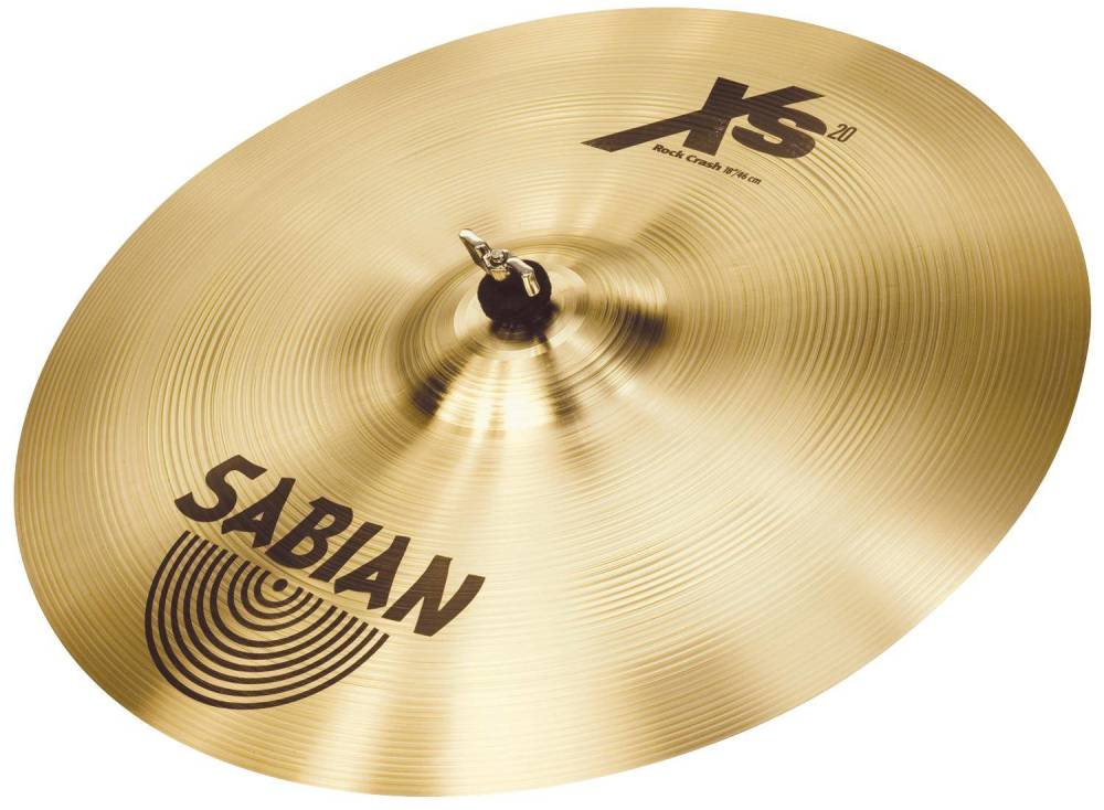 sabian xs20 18 inch rock crash long mcquade musical instruments. Black Bedroom Furniture Sets. Home Design Ideas