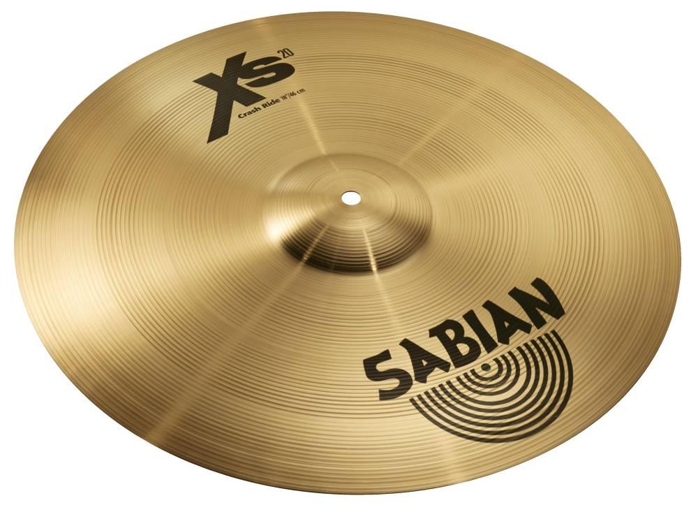 sabian xs20 18 inch crash ride long mcquade musical instruments. Black Bedroom Furniture Sets. Home Design Ideas