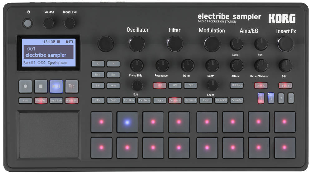 Korg electribe sampler music production station electribes b&h.
