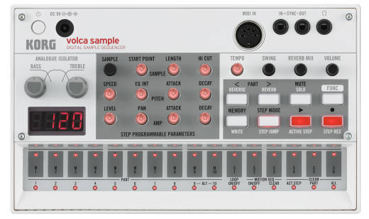 Volca Sample Digital Sample Sequencer