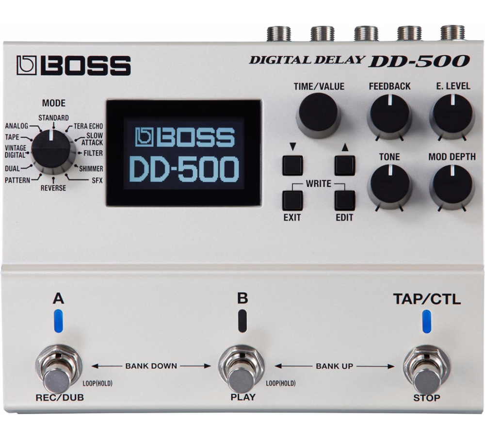Boss Digital Delay Long Mcquade Musical Instruments Solid State Relay Quebec